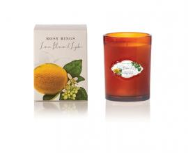 Lemon Blossom & Lychee Glass Candle
