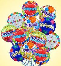Congratulations Mylar Balloon Bouquet