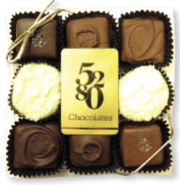 Assorted Gourmet Chocolates-9 Piece
