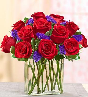 Modern Enchantment Red Roses
