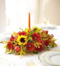 Dreams of Europe for Fall Centerpiece
