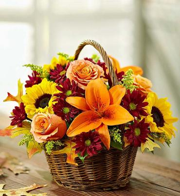 Dreams of Europe for Fall Basket