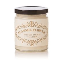 9 oz Apothecary Jar Flannel Flower