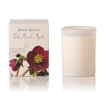 Oak Moss & Myrrh Botanica Glass Candle