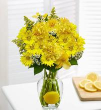 Lemon Like Lemonade; in a Vase