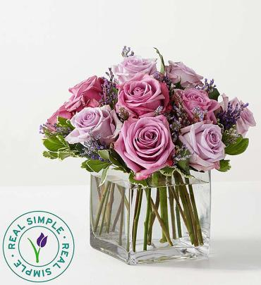Graceful Lavender Bouquet by Real Simple