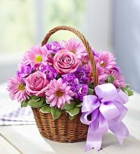 Blooms in a Basket