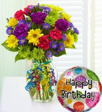 Make Their Day Bouquet; Happy Birthday