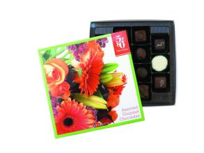 Assorted Gourmet Chocolates - Floral Box